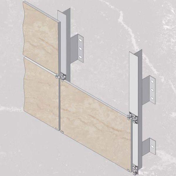 Pianta Muro Berlino : Facciate ventilate sistemi di ancoraggio a scomparsa e muro