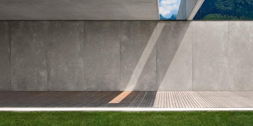 Gres porcellanato effetto cemento resina pavimenti e rivestimenti - Pavimentazioni interni moderne ...