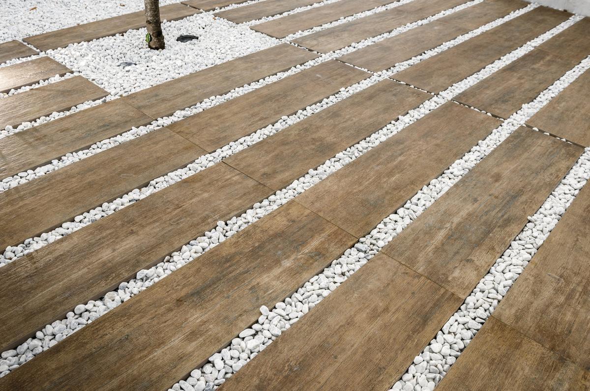 Pavimento Effetto Legno Rovere pavimento per esterni effetto legno rovere sabbia