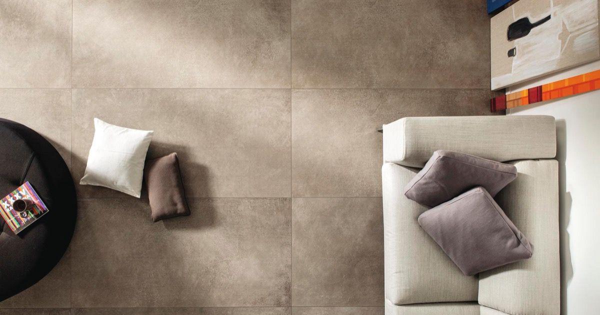Cm2 fango piastrelle in grandi formati effetto pietra - Posa piastrelle 120x60 ...