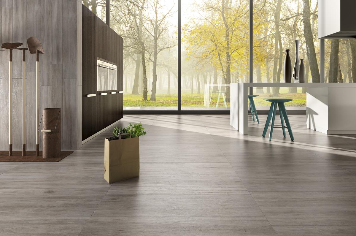 Pavimenti effetto legno grigio chiaro rovere cenere - Piastrelle simil legno ...
