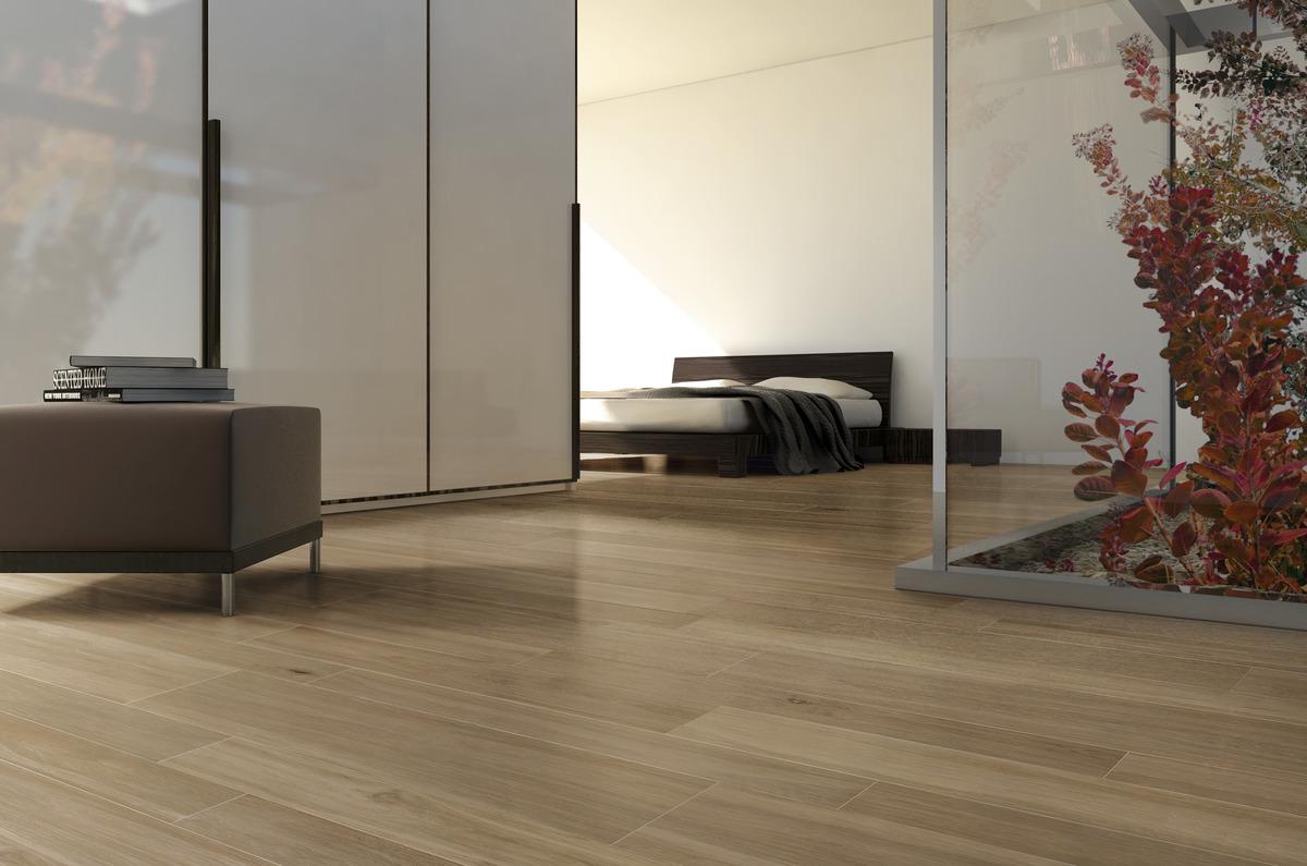 Pavimento Effetto Legno Rovere gres porcellanato effetto legno rovere noce   ariostea