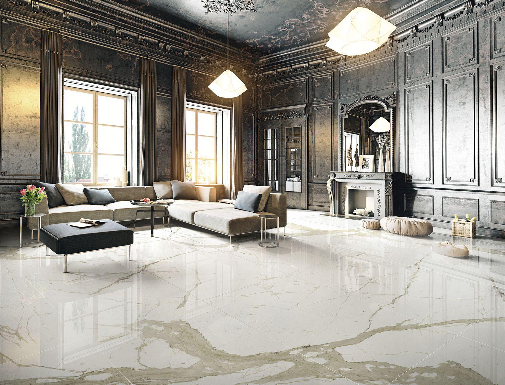 Marmi pavimento effetto marmo in gres porcellanato