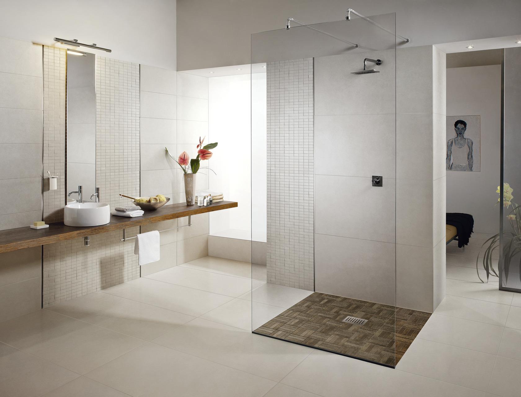 Limra pavimento per esterno interno effetto pietra bianca - Gres effetto pietra ...