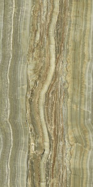 Marble Grain Continuity Green Onyx Vein Cut